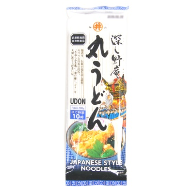 (Round Dry Udon Noodles 200g)