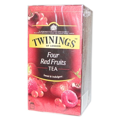 Twinings Four Red Fruits Tea 50g