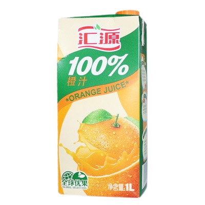 Hui Yuan Orange Juice 1L