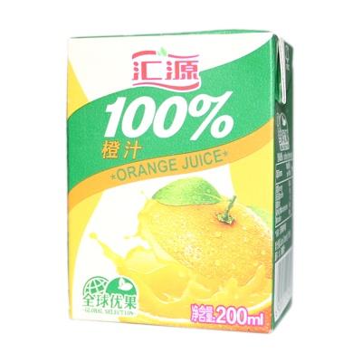 Hui Yuan Orange Juice 200ml