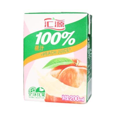 Hui Yuan Peach Juice 200ml
