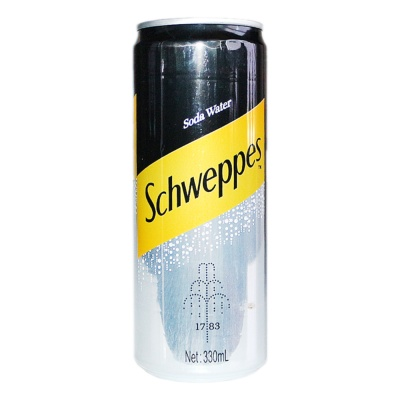 Schweppes Soda Water 330ml