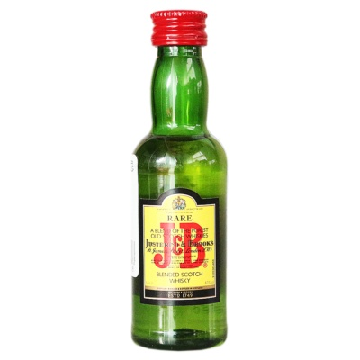 J & B Blended Scotch Whisky 50ml