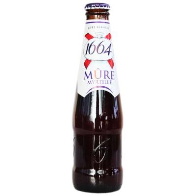 克伦堡1664蓝莓啤酒 250ml