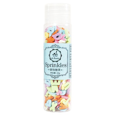 La Sweetie Sprinkles(8mm Color Letters) 22g