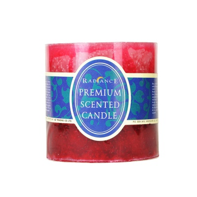 Color Gradient Brandy Scented Candle