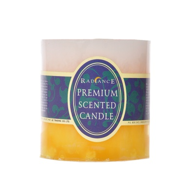 Color Gradient Gardenia Scented Candle