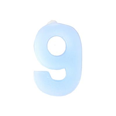 数字9蜡烛