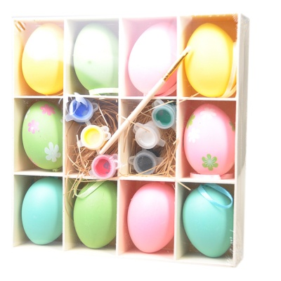 Easter Eggs 6cm Hand-painted 10p