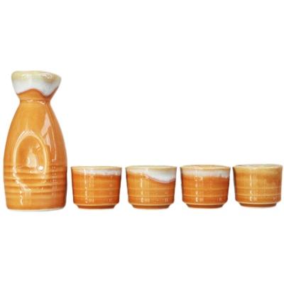 Japanese-Style Ceramic Jug&Cups-Tender Feeling