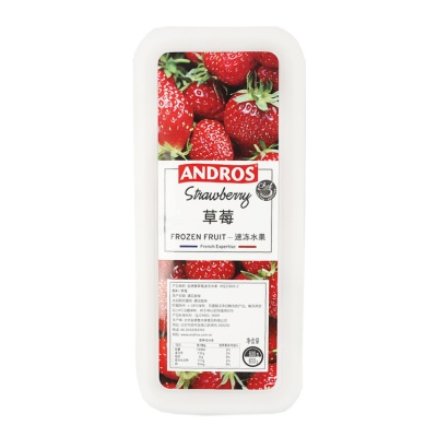 Andros Frozen Strawberry 600g