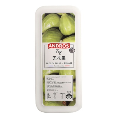 Andros Frozen Fig 600g