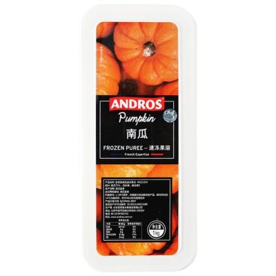 Andros Frozen Pumpkin 1kg
