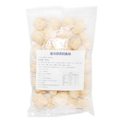 Quick-frozen Garlic Cod Balls 500g