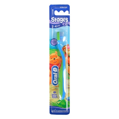 Oral-B Stages 2-4 years Toothbrush 1pcs