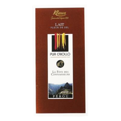 Keaus Lait Fleur De Sel Chocolate 100g
