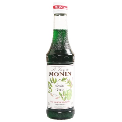 Monin Green Mint Syrup 250ml