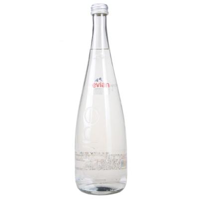 Evian Natural Mineral Water (Glass Bottles) 750ml