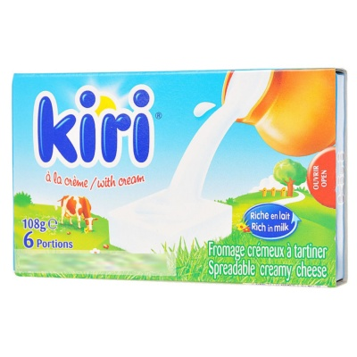 Kiri Spreadable Creamy Cheese 108g