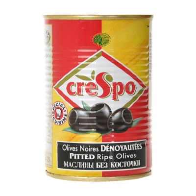 Crespo Pitted Ripe Olives 387g