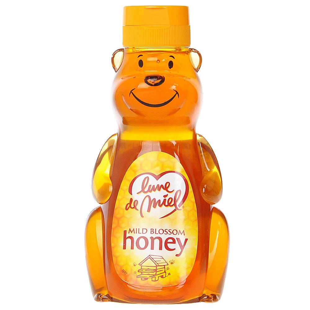 Lune De Miel Squeezy Mild Blossom Honey (Bear) 250g