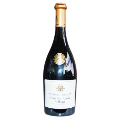 Adrien Tonelay Dry Red Wine 750ml