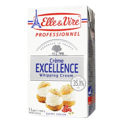 Elle & Vire Whipping Cream 35% 1L