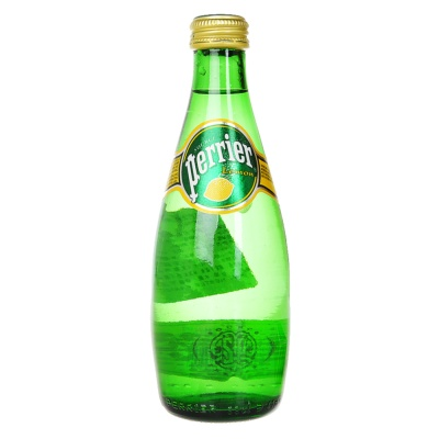Perrier Water Lemon Glass Bottle 330ml