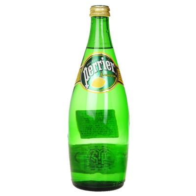 Perrier Lemon Glass Bottle 750ml