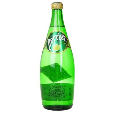 Perrier Lime Glass Bottle 750ml