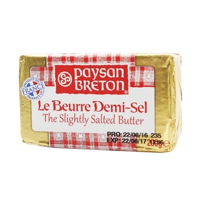 Paysan Breton Alufoil Salted Butter Brick 200g