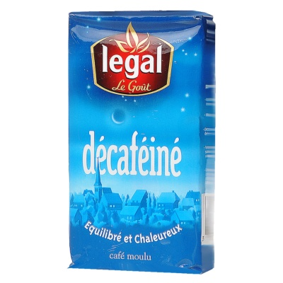 Legal Le Gout Decafeine (Vacuum Pack) 250g