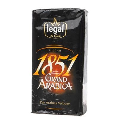 Legal 1851 Grand Arabica Coffee 250g