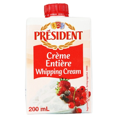President Uht Cream (35.1% Fdm) 200ml