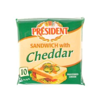 President Sandwich Cheddar Cheese 200g