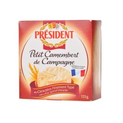 President Petit Camembert de Campagne 125g