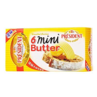 President Unsalted Portion Butter (82% Fdm) 10g*6
