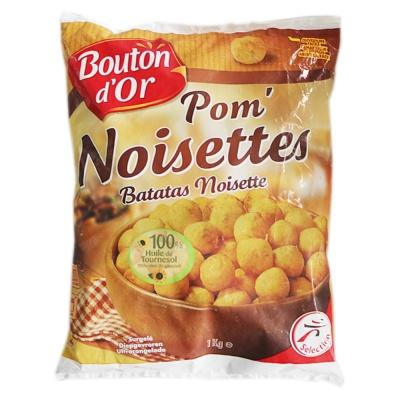Bouton d'or Pom Noisettes Batatas Noisette Potato 1kg