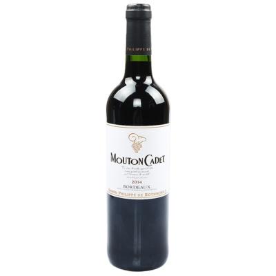 Mouton Cadet Bordeaux Dry Red Wine 750ml