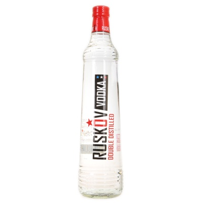 Ruskov Double Distilled Vodka 700ml