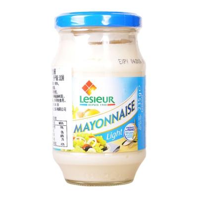 Lesieur Light Mayonnaise Glass Jar 235g