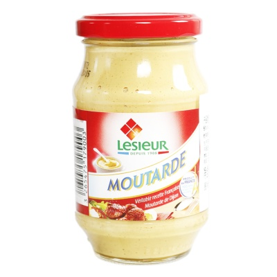 Lesieur Mustard Sauce Glass Jar 260g