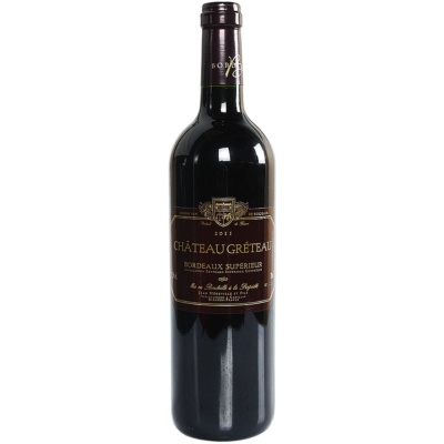 Greteau Bordeaux Dry Red Wine 750ml