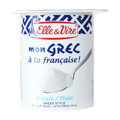 Elle & Vire Greek Style Fresh Milk 125g