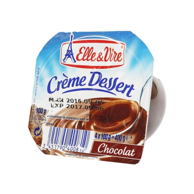 Elle & Vire Crème Chocolate Dessert 100g