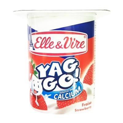 E&V Yaggo Dessert Strawberry Pulp 125g