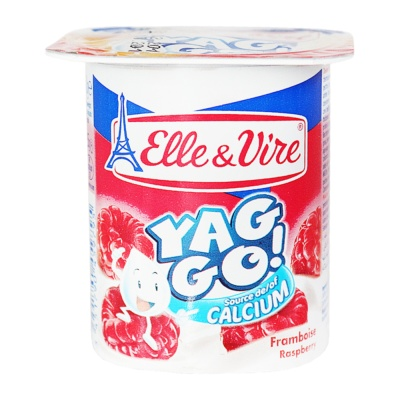 E&V Yaggo Dessert Raspberry Pulp 125g