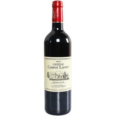 Chateau Campot Lafont Red Wine 750ml