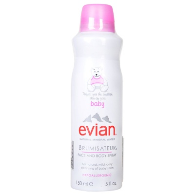 Evian Natural Mineral Water Baby Spray 150ml