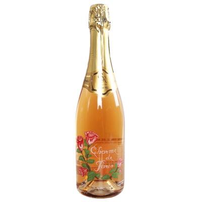 玫瑰之花粉红起泡葡萄酒 750ml
